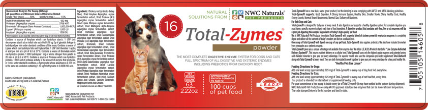 Total-Zymes label