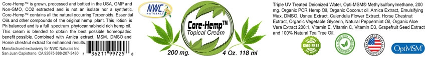 Core-Hemp Label